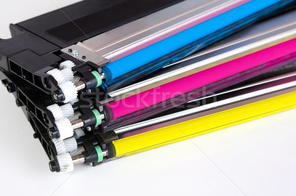 картридж набор лазерного принтер компьютер Сток-фото © simpson33