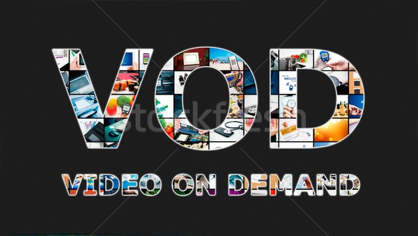 Video on demand VOD service in TV Stock photo © simpson33