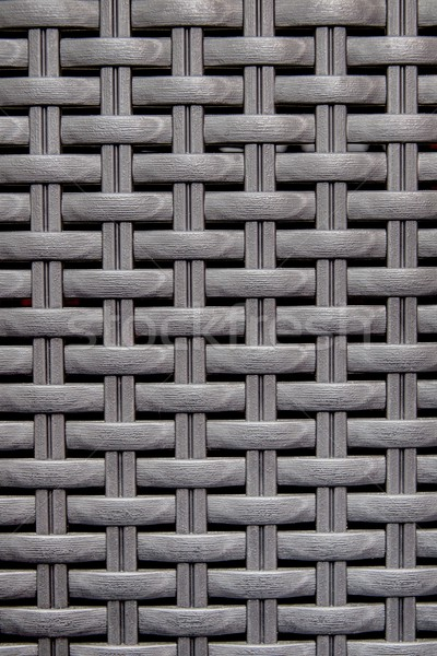 Black wooden striped textured basket weaving background.  Stock photo © simpson33