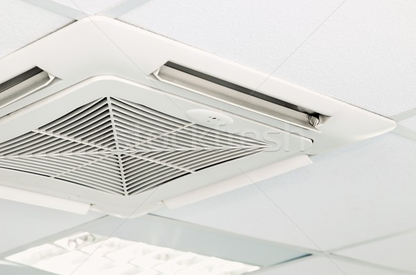 Air conditioning system installed on the ceiling Stock photo © simpson33