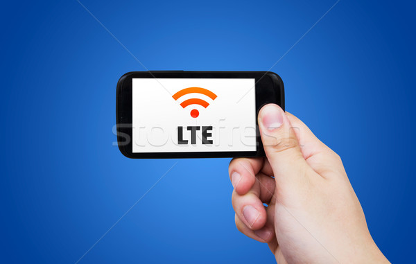 LTE high speed mobile internet connection Stock photo © simpson33