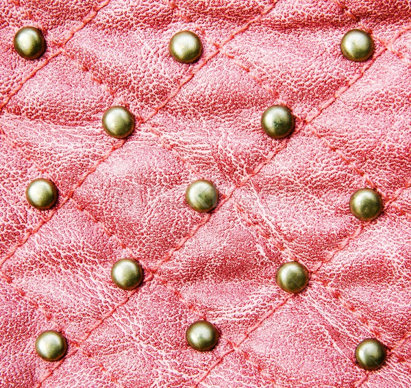 Red stitched leather texture background Stock photo © simpson33