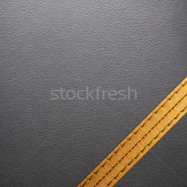 Black leather texture for background  Stock photo © simpson33