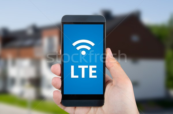 LTE high speed mobile internet connection device Stock photo © simpson33