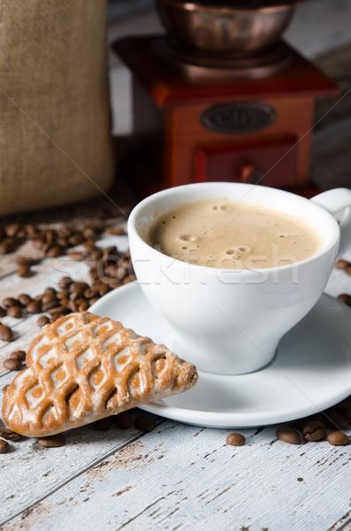 コーヒー ジンジャーブレッド 古い レトロな ミル グラインダー ストックフォト © simpson33