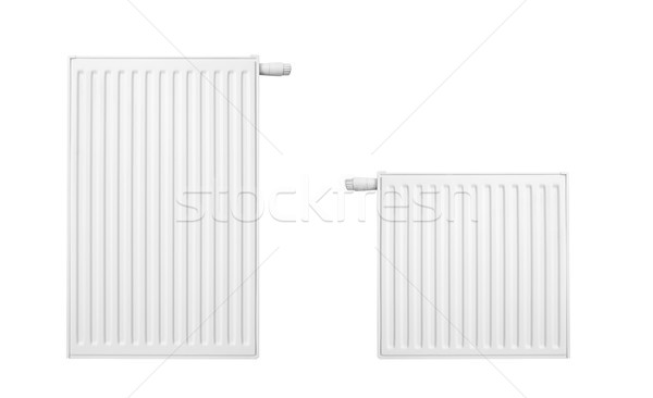 Radiator set isolated over a white background  Stock photo © simpson33