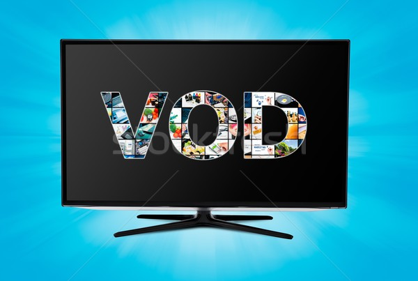 Video on demand VOD service on smart TV Stock photo © simpson33