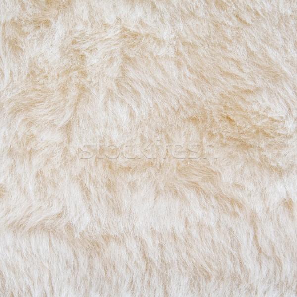 Fehér szőr jegesmedve textúra absztrakt szín Stock fotó © simpson33