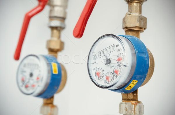 санитарный оборудование пару воды работает Сток-фото © simpson33