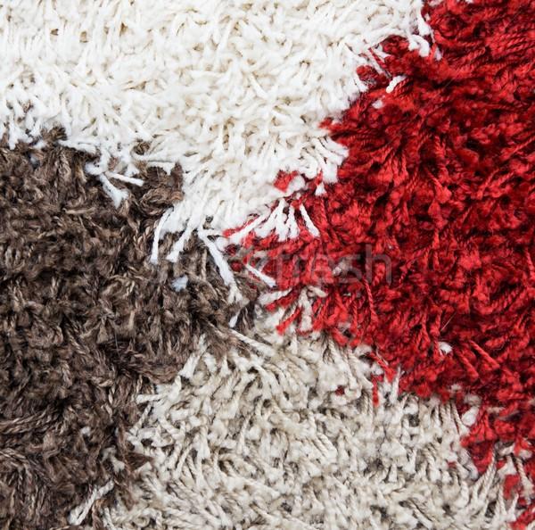 Kócos szőnyeg háttér homok puha kényelem Stock fotó © simpson33