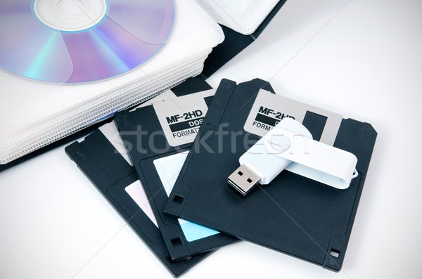 Several types of storage media Stock photo © simpson33