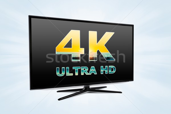 Ultra high definition digital television screen technology Stock photo © simpson33