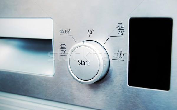 コントロールパネル 鋼 食器洗い機 コンピュータ 作業 技術 ストックフォト © simpson33