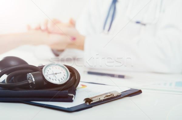 Doktor hasta tıbbi danışma sağlık Stok fotoğraf © simpson33