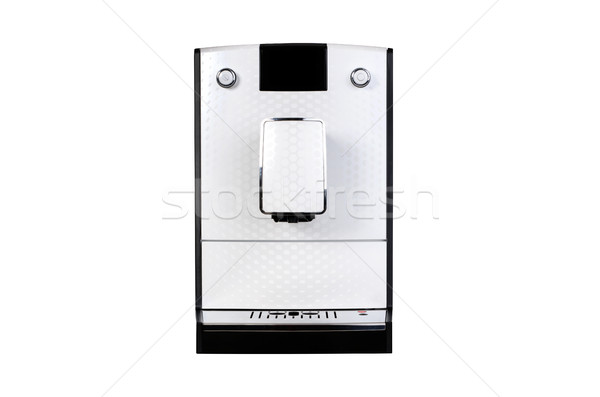 Coffee maker isolated front side rear texture for your object Stock photo © simpson33