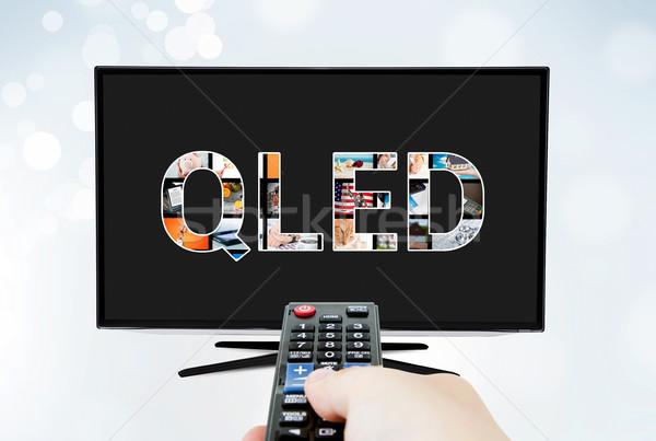 QLED quantum dot tv display innovation technology Stock photo © simpson33