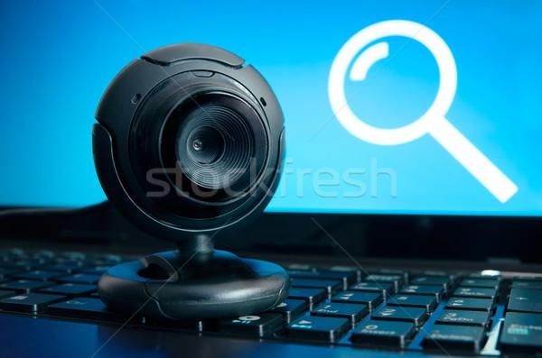 веб наблюдение камеры шпионаж безопасности интернет Сток-фото © simpson33