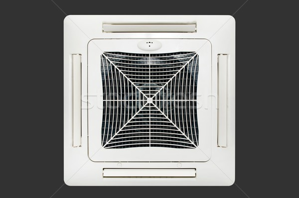 Air conditioning system installed on the ceiling. Isolated on da Stock photo © simpson33