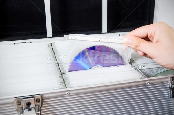 стороны диска алюминий случае науки Сток-фото © simpson33