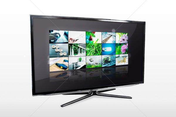 Lucido tv schermo video Foto d'archivio © simpson33