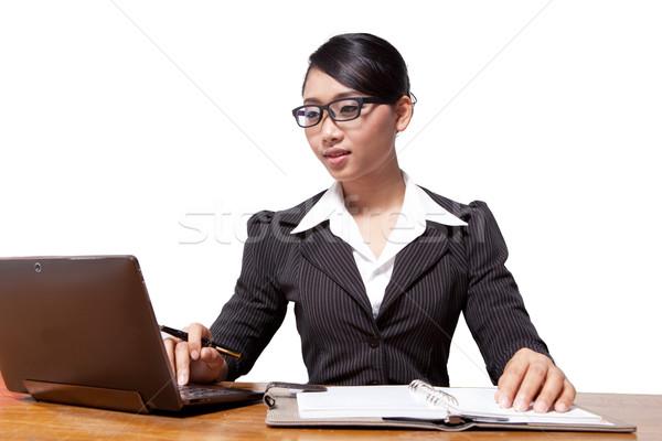 Business woman Stock photo © sippakorn