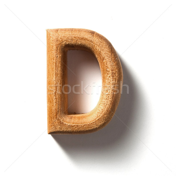 Alphabet letter Stock photo © sippakorn