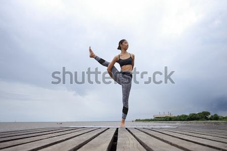 Yoga Pla Stock photo © sippakorn