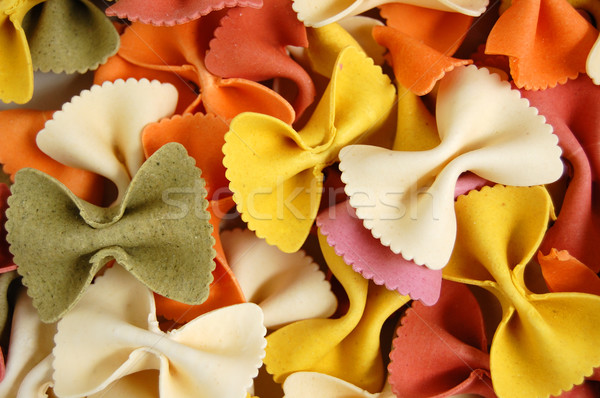 farfalle pasta food background Stock photo © sirylok