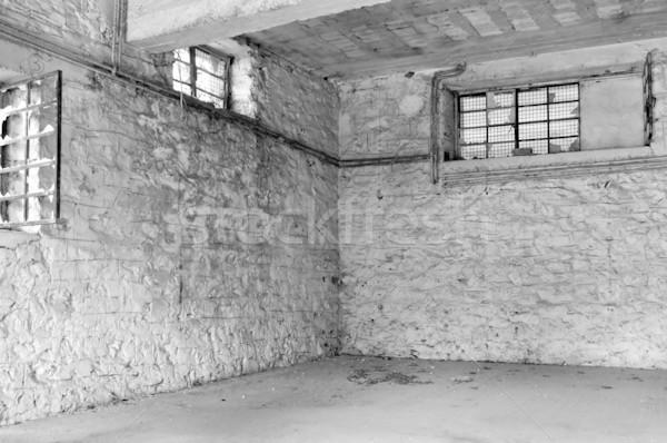 промышленных интерьер пусто комнату белый Сток-фото © sirylok