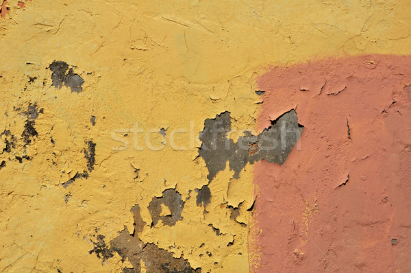 peeling wall abstract Stock photo © sirylok