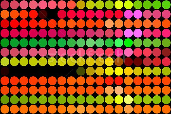 флуоресцентный аннотация геометрическим рисунком Цифровая иллюстрация вечеринка Сток-фото © sirylok