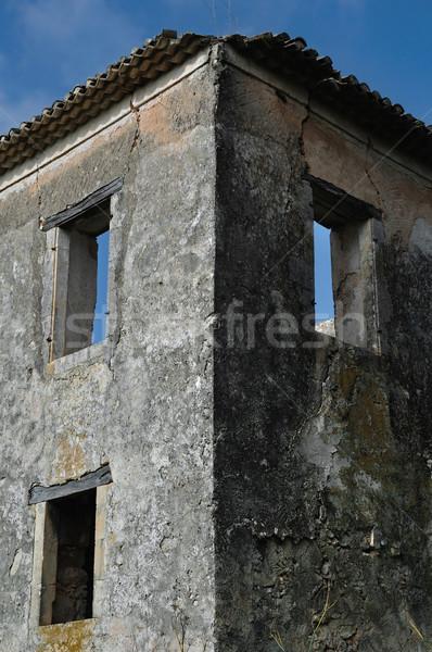 農村 遺跡 捨てられた 家 ザキントス ギリシャ ストックフォト © sirylok