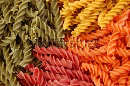 4 味 パスタ のイタリア料理 テクスチャ 食品 ストックフォト © sirylok