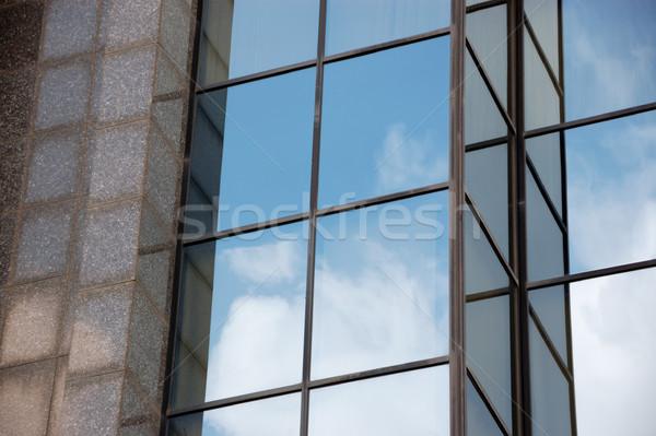 modern glass facade Stock photo © sirylok