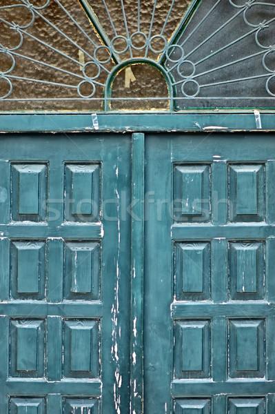 ornamental gate Stock photo © sirylok