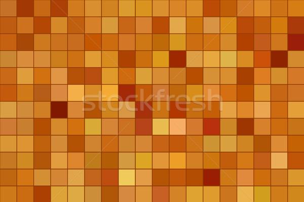 対称の パターン 正方形 抽象的な コンピュータ 生成された ストックフォト © sirylok