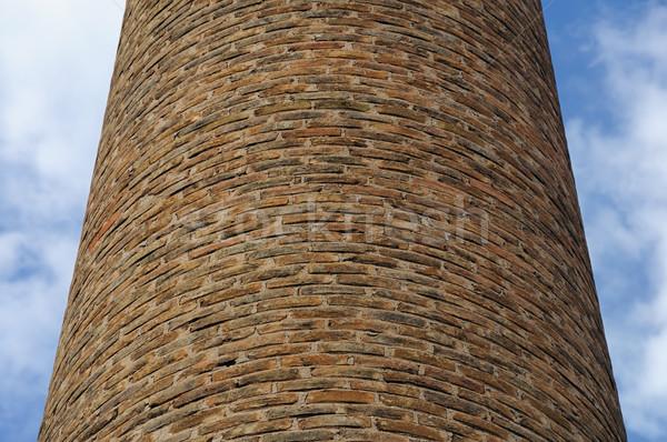factory chimney Stock photo © sirylok