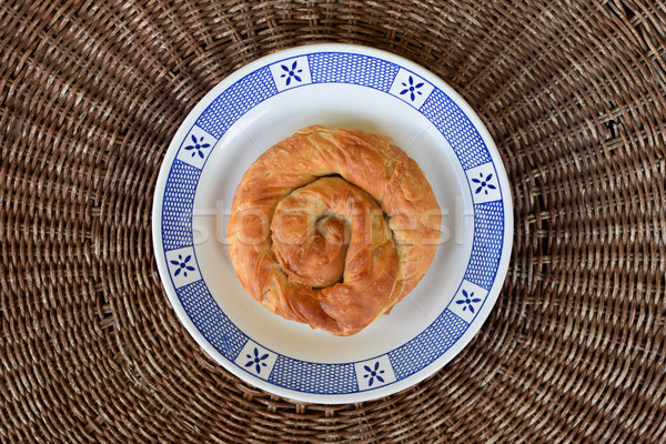 spiral pie greek food Stock photo © sirylok