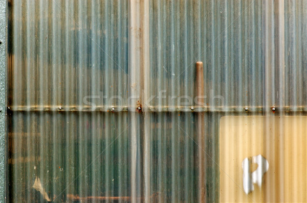 corrugated plastic Stock photo © sirylok