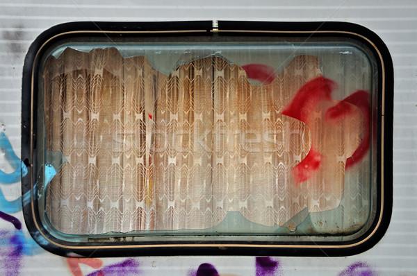 trailer window Stock photo © sirylok