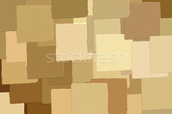 Marrom padrão computador gerado ilustração Foto stock © sirylok