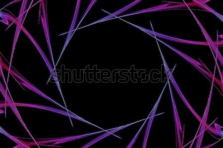 Frattale 3D illustrazione computer generato abstract Foto d'archivio © sirylok