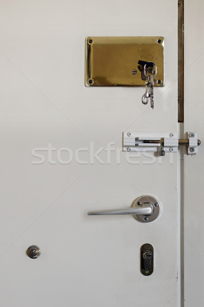 locked door Stock photo © sirylok