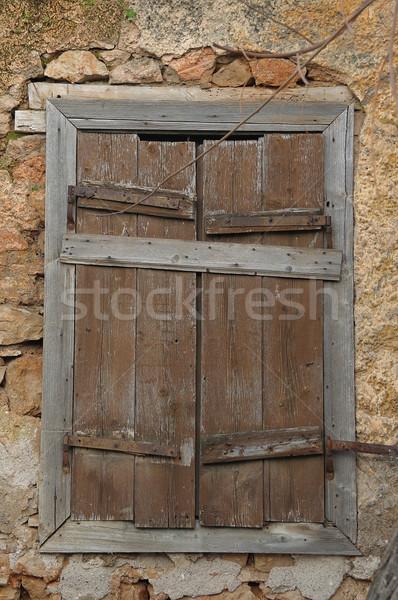 Hasta capeado pared abandonado Foto stock © sirylok