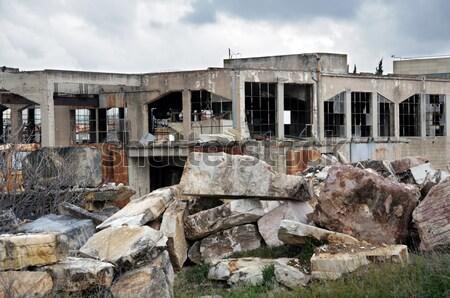 marble factory ruins Stock photo © sirylok
