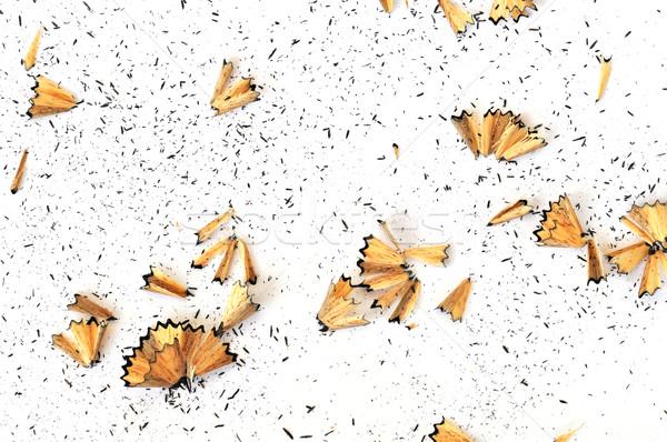 Grafiet potlood witte arts abstract papier Stockfoto © sirylok