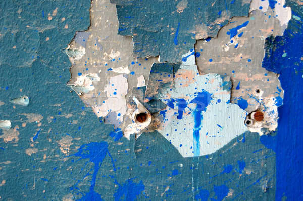 peeling paint detail Stock photo © sirylok