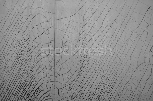 cracked plastic film background Stock photo © sirylok
