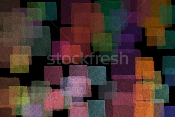 Abstract pastel pleinen kleuren illustratie Stockfoto © sirylok
