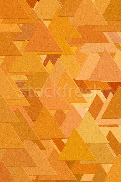 triangles pattern Stock photo © sirylok